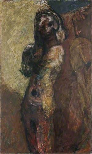 Lucinda, Hand on Shoulder