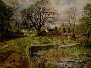 Glamis Village in April