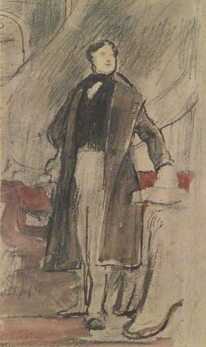 Study for a Portrait of Daniel O'Connell (1775–1847), MP