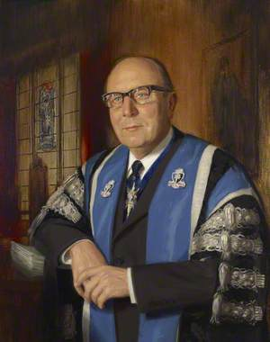 Professor Sir Stanley Clayton (1911–1986), President of the Royal College of Obstetricians and Gynaecologists (1972–1975)