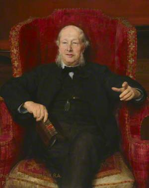 Professor George Aitchison (1825–1910), RA, RGM, PRIBA