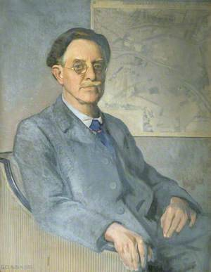 Sir Raymond Unwin (1863–1940), PRIBA