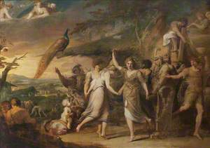 A Grecian Harvest Home, or Thanksgiving to the Rural Deities, Ceres, Bacchus