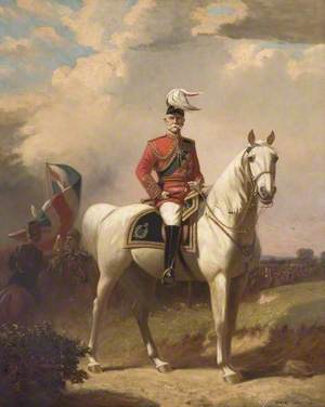 Field Marshal Earl Roberts, on His Charger 'Volonel'