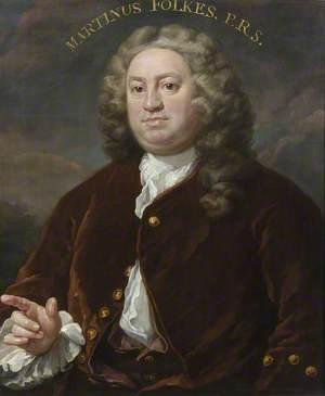 Martin Folkes (1690–1754)