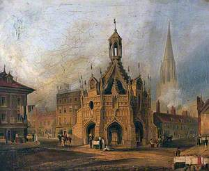 The Market Place at Chichester, West Sussex