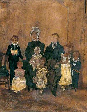 James Ewer Cutten (1783–1857), and His Family