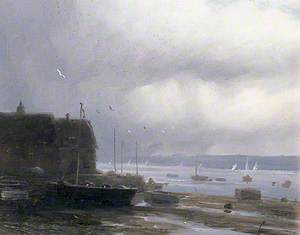 A Breezy Day in the Harbour, Chichester, West Sussex