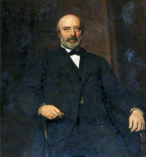 John D. Allcroft, Treasurer of Christ's Hospital (1873–1891)