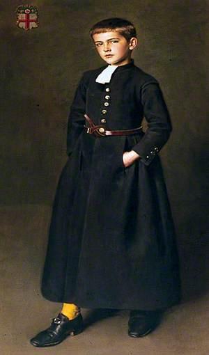 Edward Logsdail (1896–1923), as a Christ's Hospital Scholar