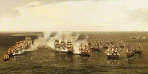 The Action of Commodore Dance and the Comte de Linois off the Straits of Malacca, 15 February 1804