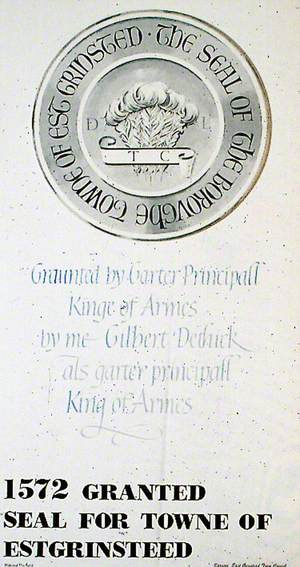 1572 Granted Seal for Towne of Estgrinsteed