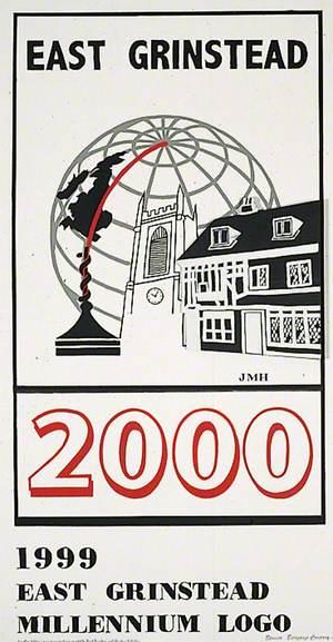 1999 East Grinstead Millennium Logo