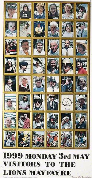 1999 Monday 3 May Visitors to the 'Lions' May Fayre'