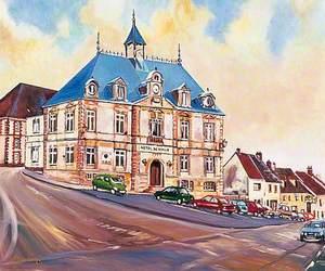 Hotel de ville, Montmirail, France