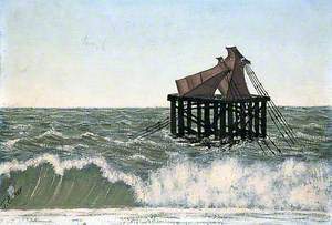 The Remains of Old Brighton Pier