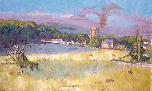 Chagford, Devon, across Fields