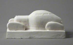 Maquette of Saloon Car