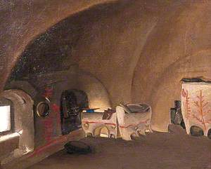 Interior of a Peasant House, Kolonia