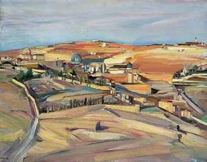 The Southeast Corner, Jerusalem (Palestinian Landscape)