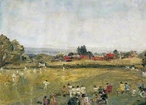 West Hoathly Cricket Ground and Langridge Farm