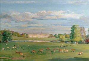 Petworth House and Lake