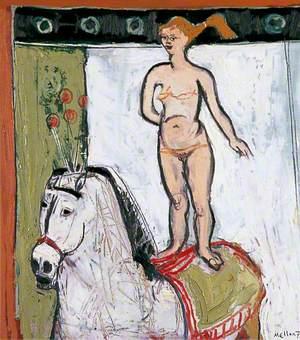 Circus Horse and Rider