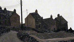 Cottages, Mow Cop II, Staffordshire