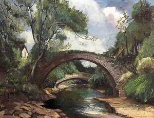 The Roman Bridge at Lanark