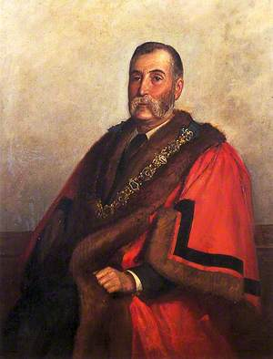 Alderman Alfred Cortis, First Mayor of Worthing