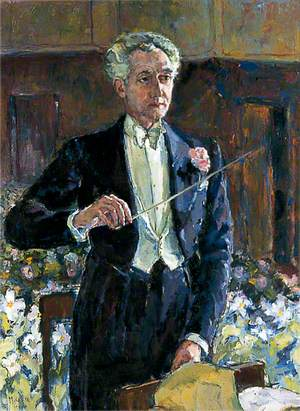 Herbert Lodge, Conductor of the Municipal Orchestra