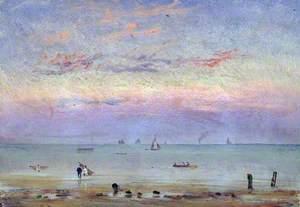 St Leonard's Beach and Sea