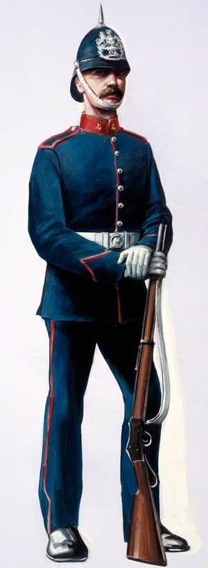 Rifleman, Sussex Artillery Volunteers