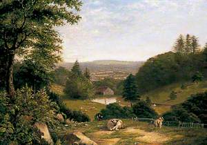 View from Pitshill, Tillington, West Sussex