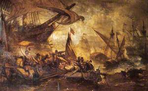 The Defeat of the Spanish Armada, 1588