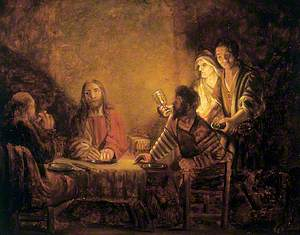 Christ and the Disciples (Supper at Emmaus)