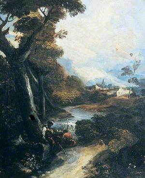 Landscape with Brigands Resting