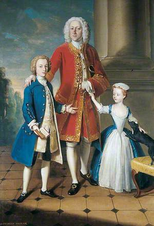 Colonel Charles Ingram with His Children