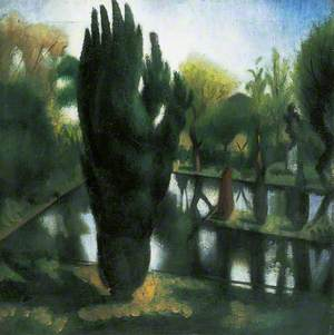 The Pond at Garsington, Oxford