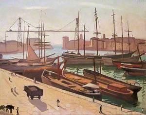 Le port de Marseille, France