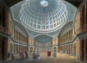 Interior of the Pantheon, Oxford Road, London