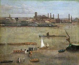 The Plumbago Factory, Battersea, London