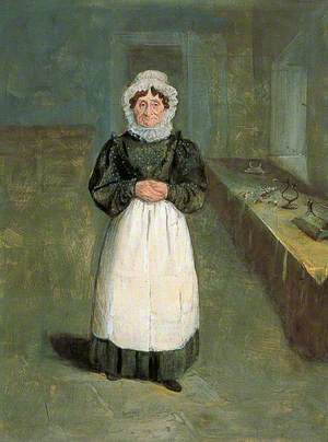 Mrs Brown, Housekeeper at Bramham