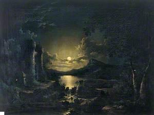 Moonlight Scene