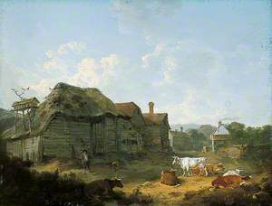 A Farmyard in Kent