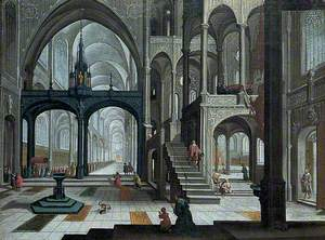Procession in a Cathedral