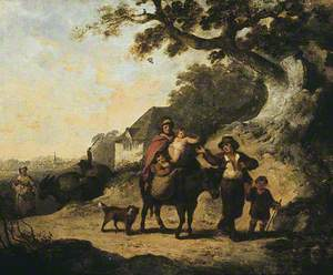 Peasant Family on the Road
