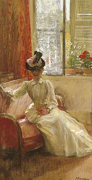 Interior: A Lady