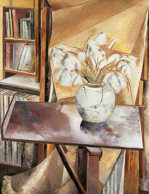Still Life with Bog Cotton