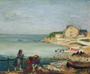 Beach Scene, Swanage, Dorset